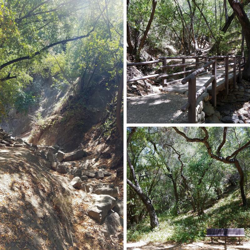 Nojoqui Falls Park Trail, Solvang CA