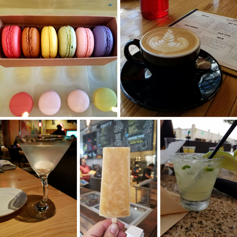 Dallas Dessert Treats Coffee Cocktails Macarons Popsicles