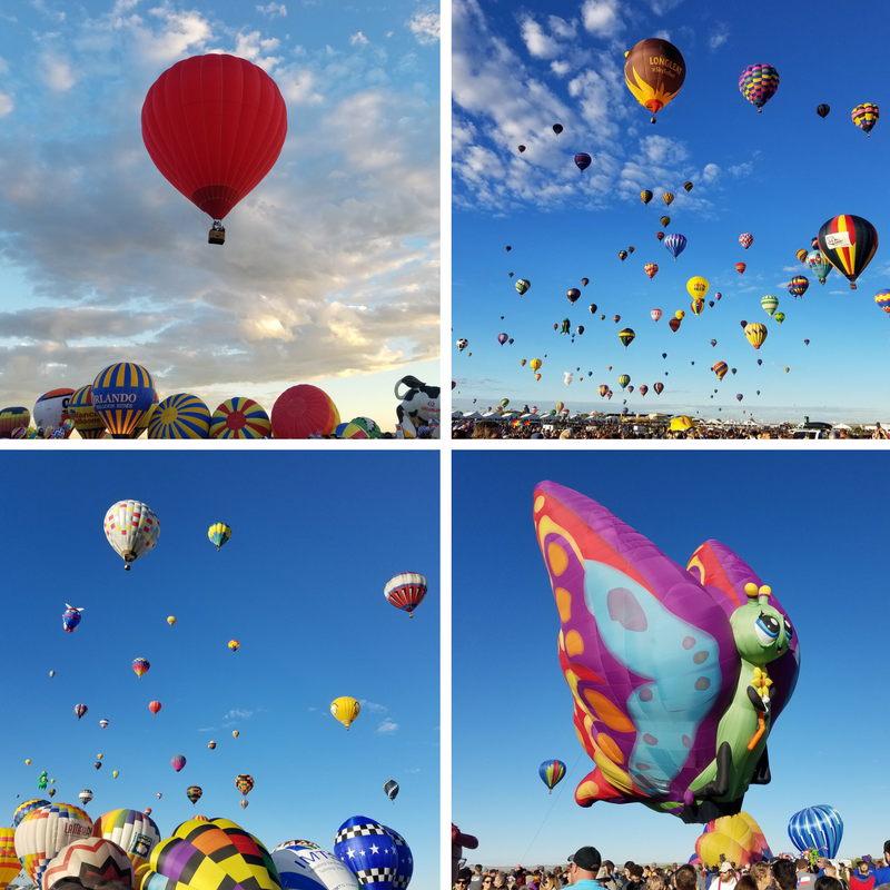 ABQ International Balloon Fiesta 2016