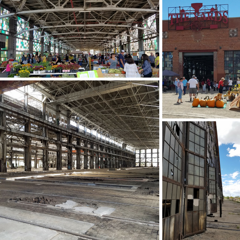 Albuquerque NM Rail Yards Market