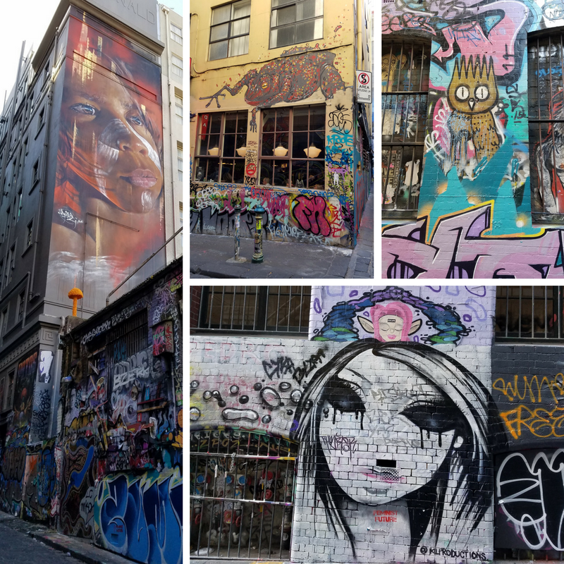Melbourne Australia Street Art Hosier Lane