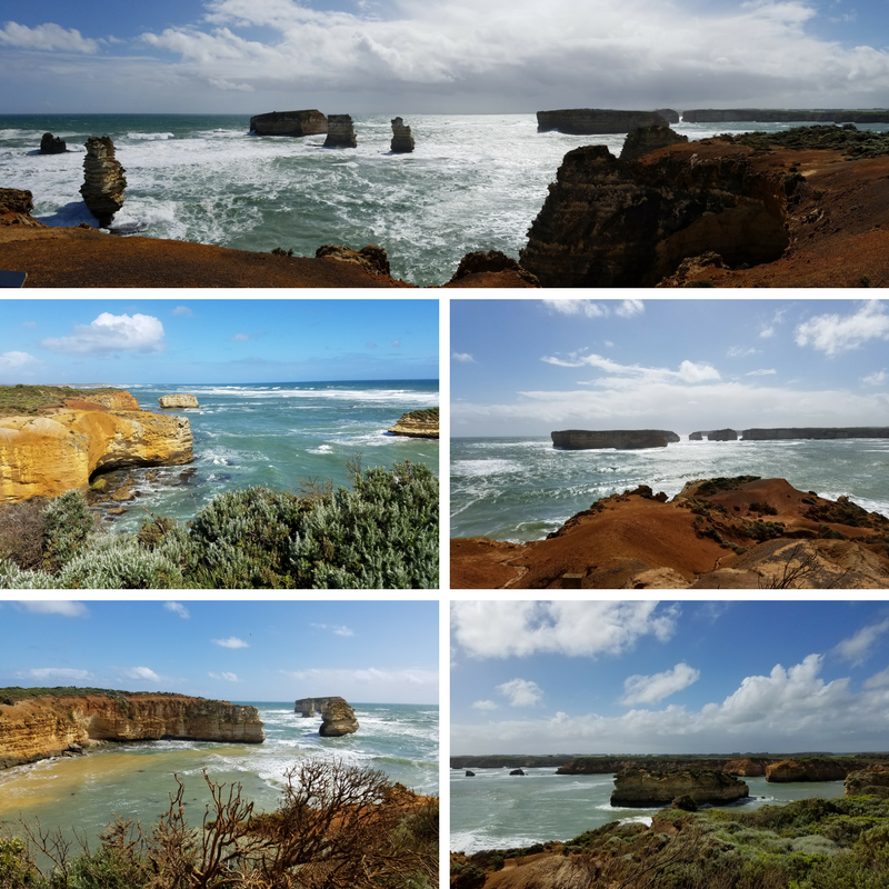 Great Ocean Road Bay of Islands Victoria Australia