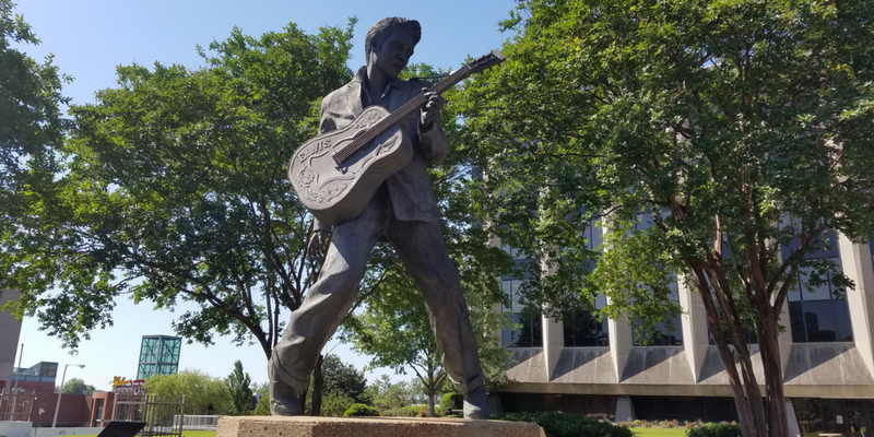 Elvis Statue, Elvis Plaza, Beale Street, Memphis TN