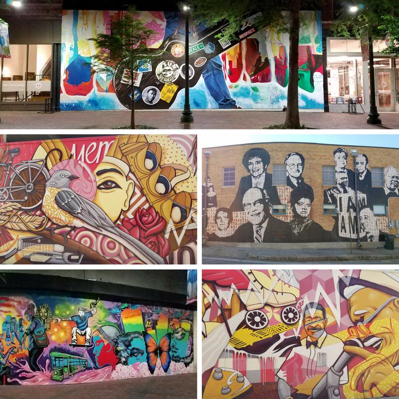 Downtown Memphis, Street Murals, Street Art, Memphis TN