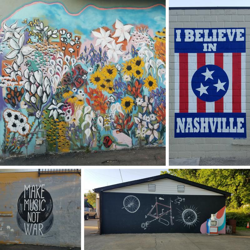 Nashville, Nashville TN, Street Murals, Street Art, 12th Avenue