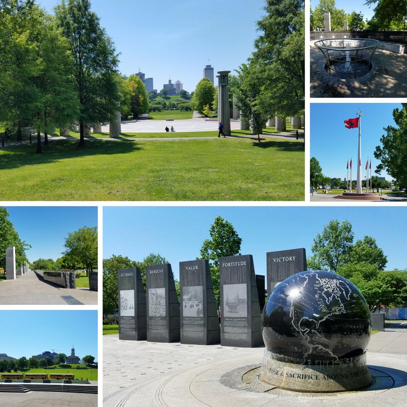 Nashville, Nashville TN, Bicentennial Park, World War II Memorial, Nashville History