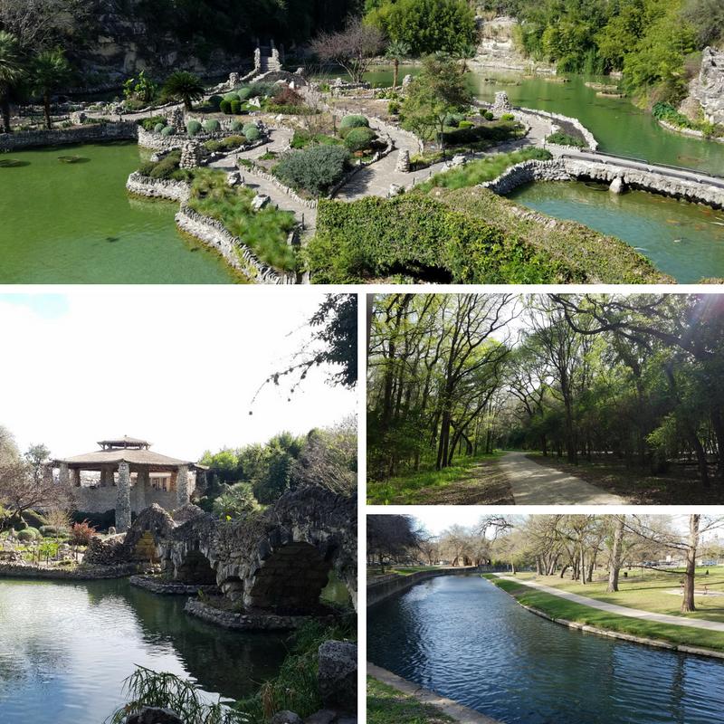 Japanese Garden, Brackenridge Park, San Antonio TX, Texas, TX, San Antonio