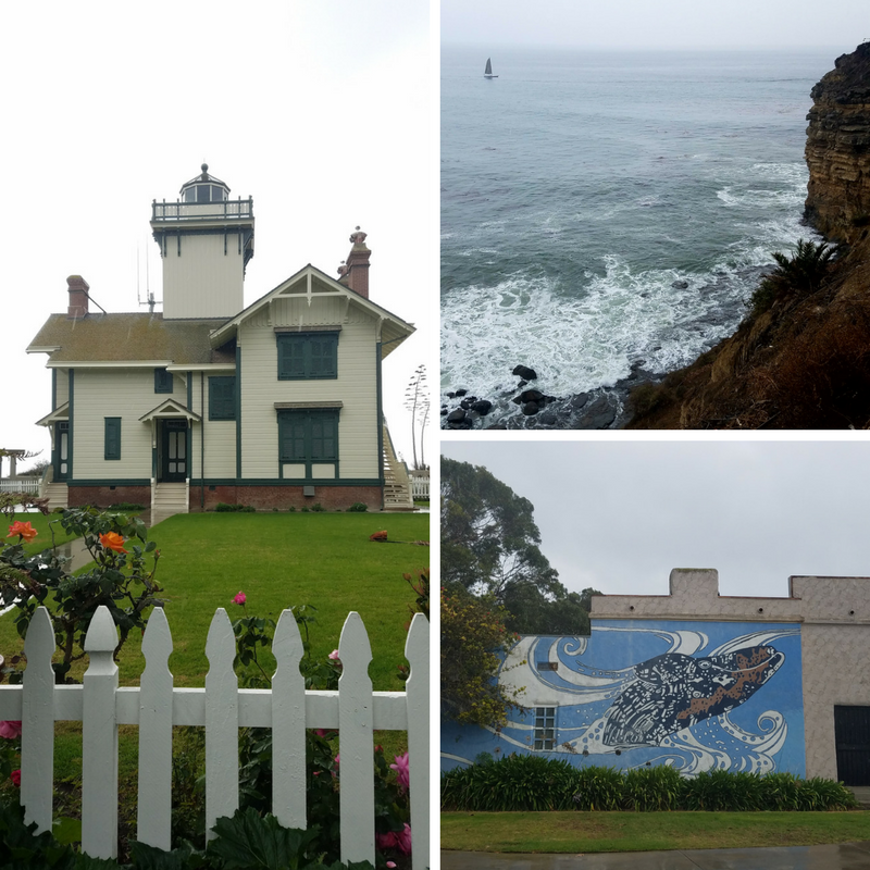 Point Fermin Park, Point Fermin Lighthouse, San Pedro Bay, San Pedro CA, San Pedro