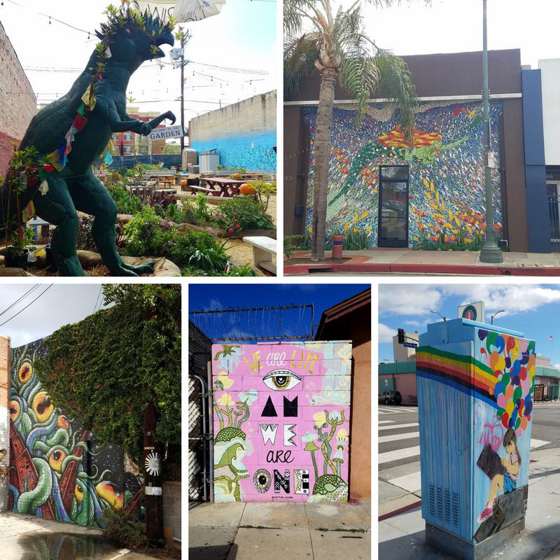 Street Art, Street Murals, San Pedro CA, San Pedro