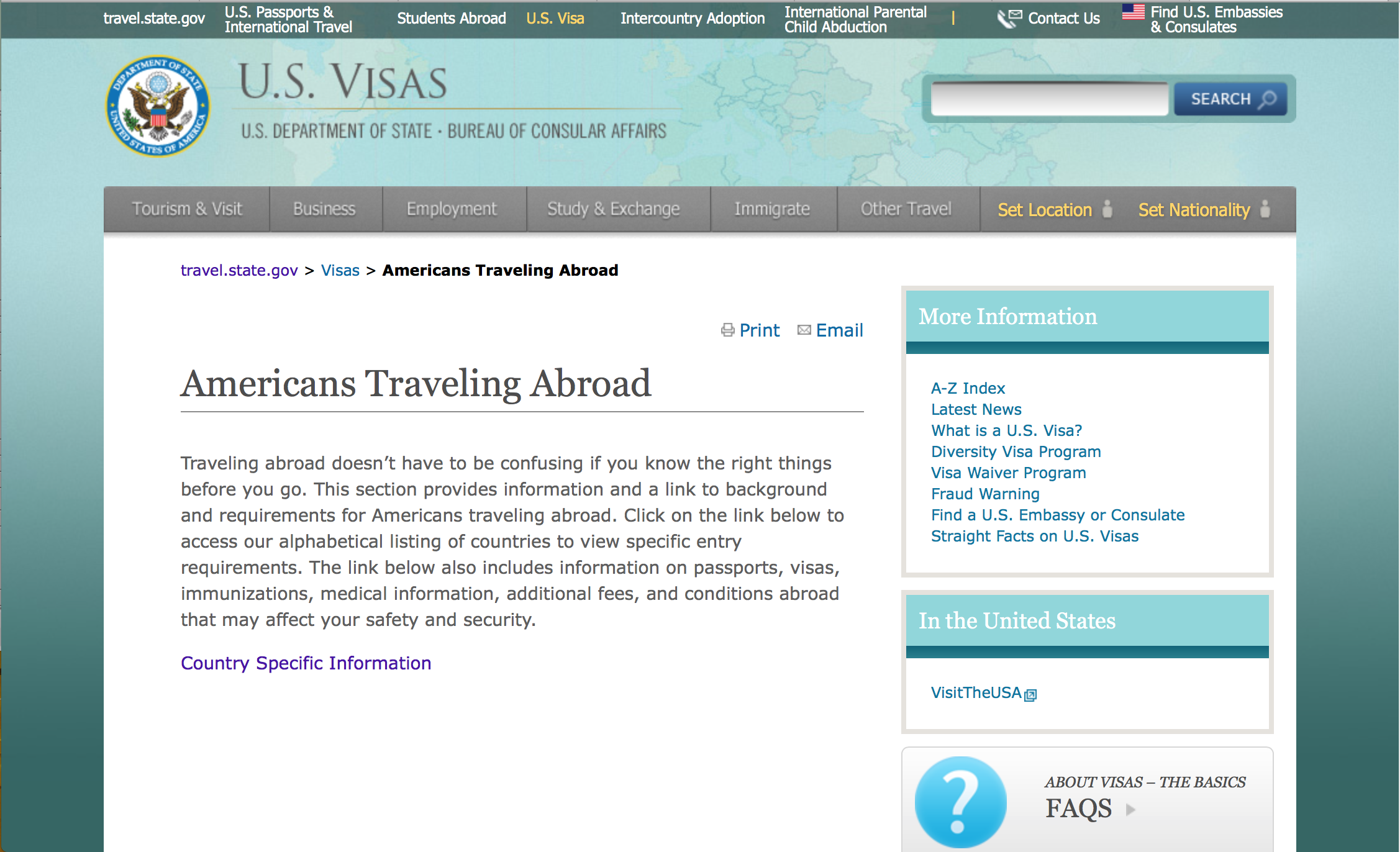 How to check out the trip abroad