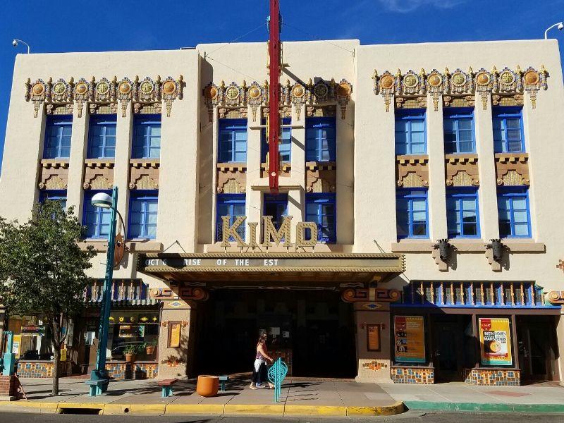 Exterior of KiMo Theater in Albuquerque New Mexico