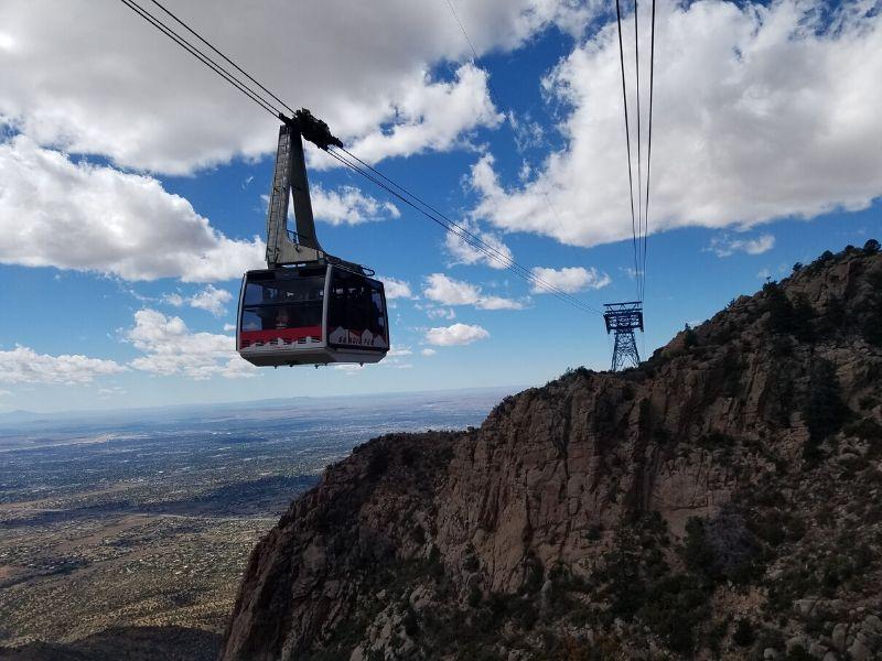 Sandia Peak Tram in Albuquerque NM