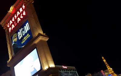 An Elton John Concert in Las Vegas