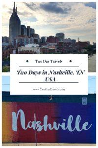 Nashville TN City Skyline, Nashville Mural