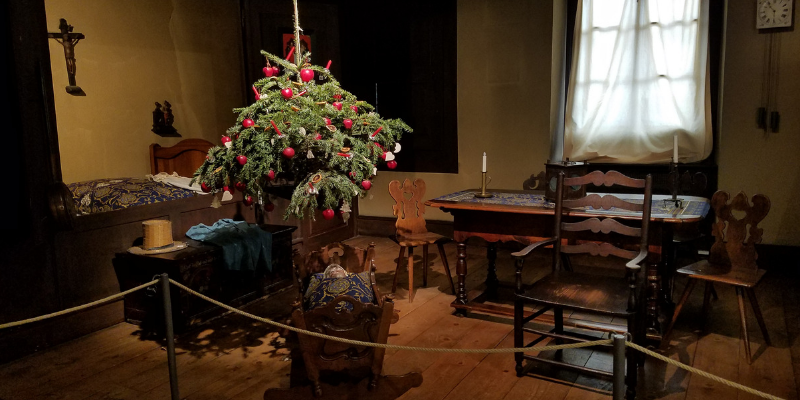 Historical Museum - Early Christmas - Mulhouse France