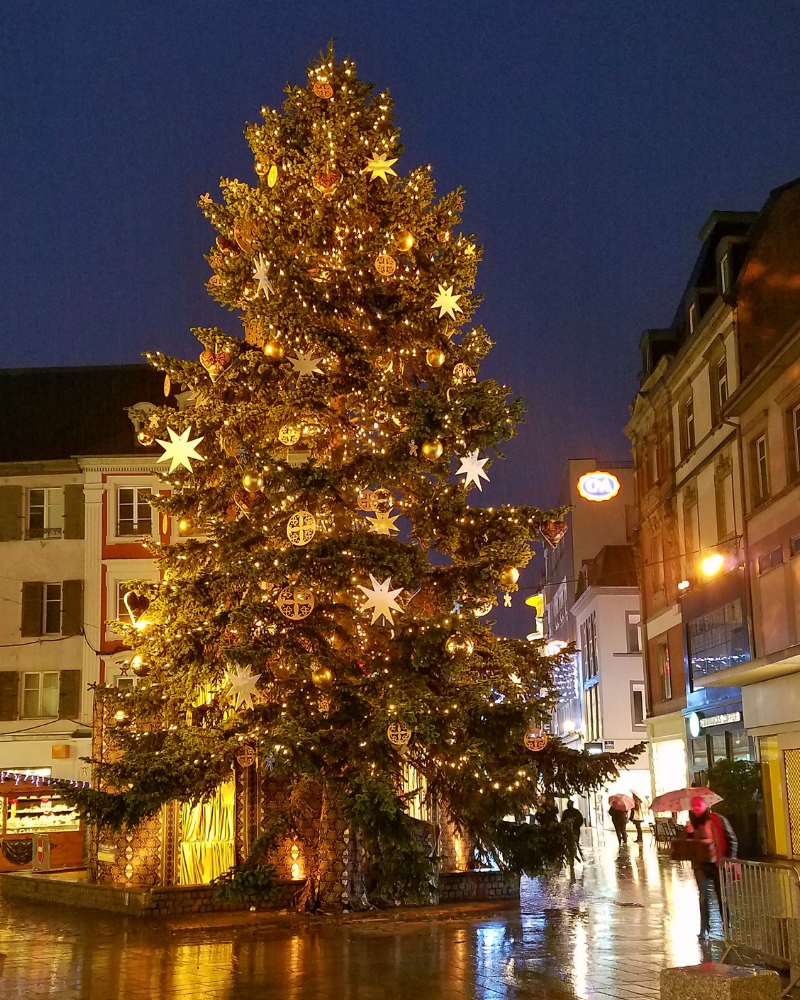 Christmas Tree in Mulhouse France