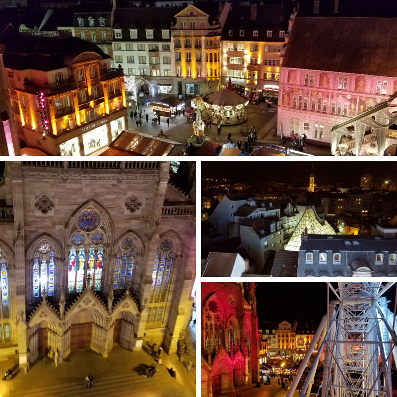 Views from the Ferris Wheel in Mulhouse France
