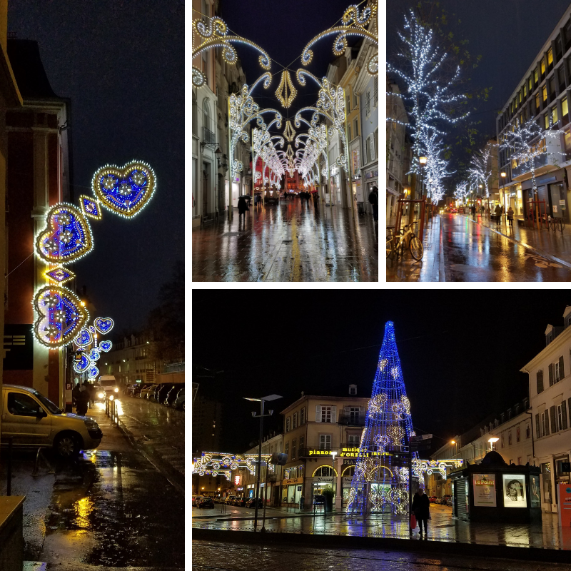 Christmas Lights in Mulhouse France