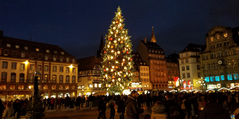 Christmas Tree, Strasbourg France