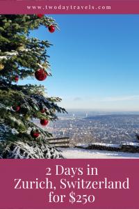 Zurich in December