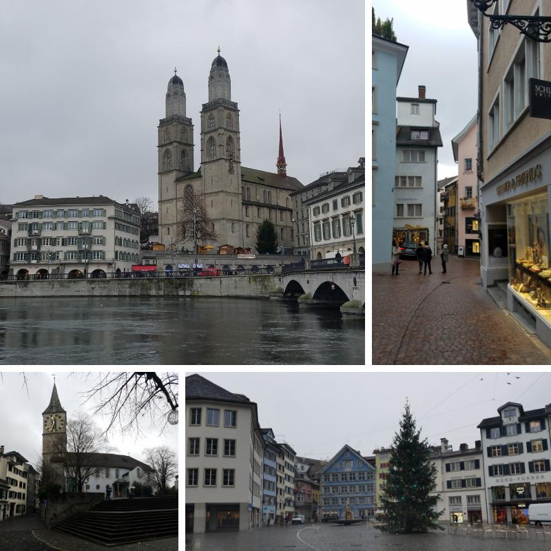 Augustinergasse, Zurich, Zurich in December