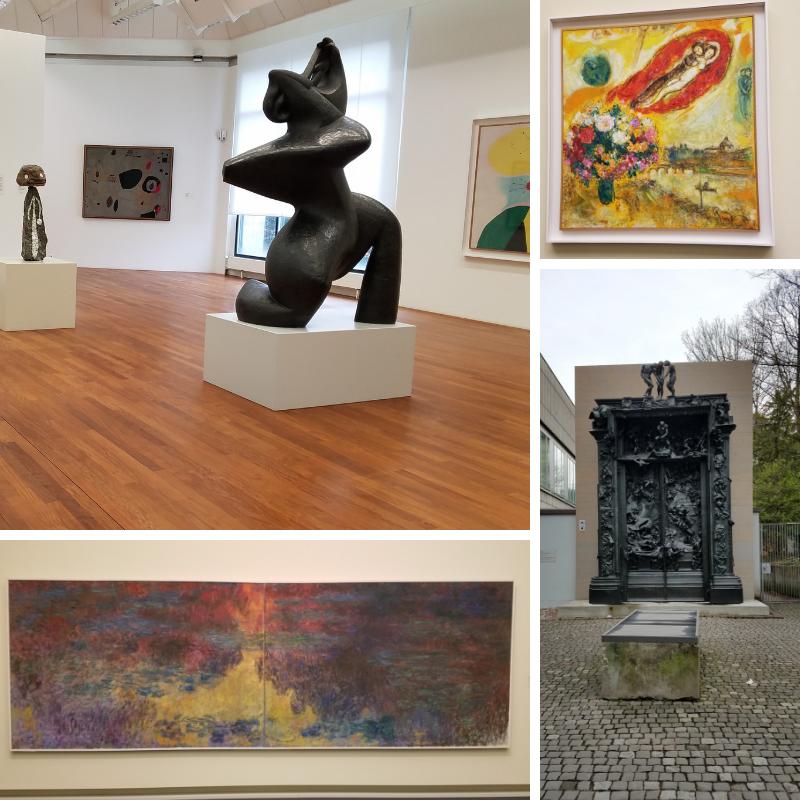 Kunstaus Museum, Zurich, Monet Water Lilies, Renoir Gates of Hell, Chagall