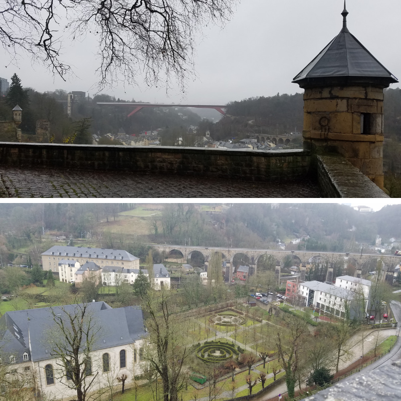 Luxembourg City, Bock Promontory