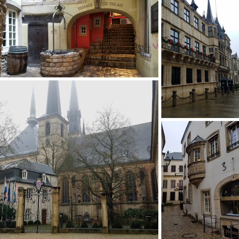 Buildings in Luxembourg City, Grand Ducal Palace