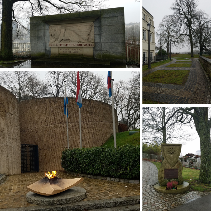 Monument National de la Solidarité Luxembourgeoise, Eternal Flame