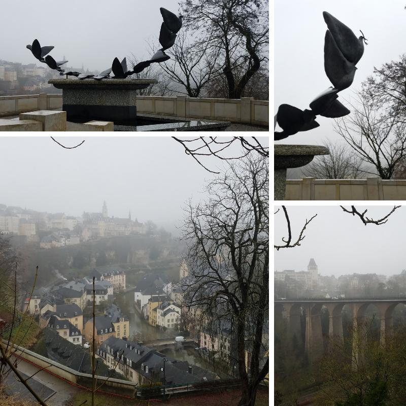 Peace Doves, Passerelle, Grund