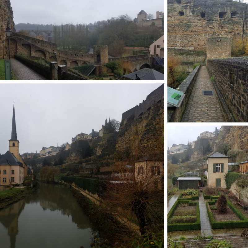 Stierchen Bridge, Wenzel Wall, Luxembourg, Grund Neighborhood