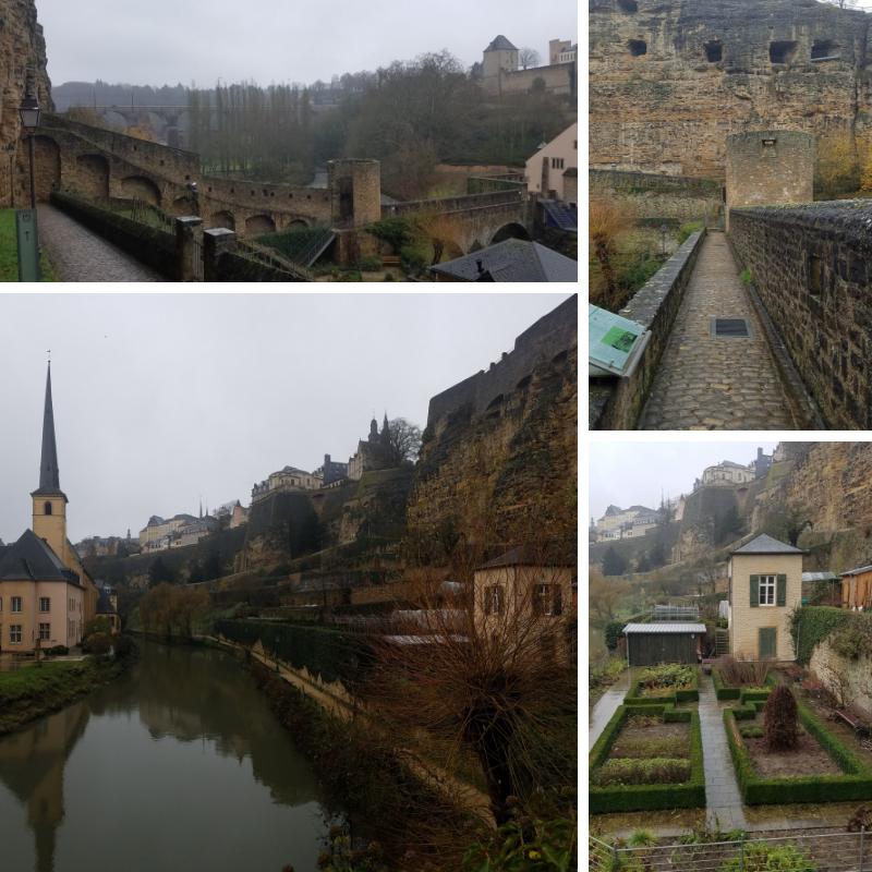 Stierchen Bridge, Wenzel Wall, Luxembourg, Grund Neighborhood