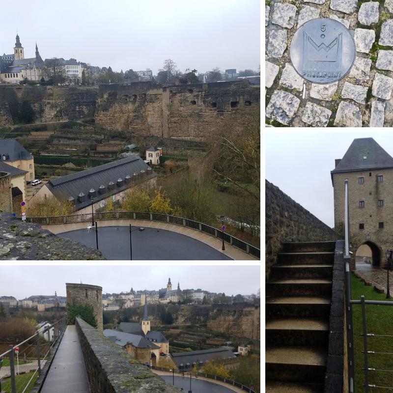 Wenzel Wall, Jacob Tower, The Grund neighborhood, Luxembourg City