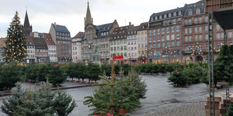 Strasbourg France Christmas Markets, Place Kleber