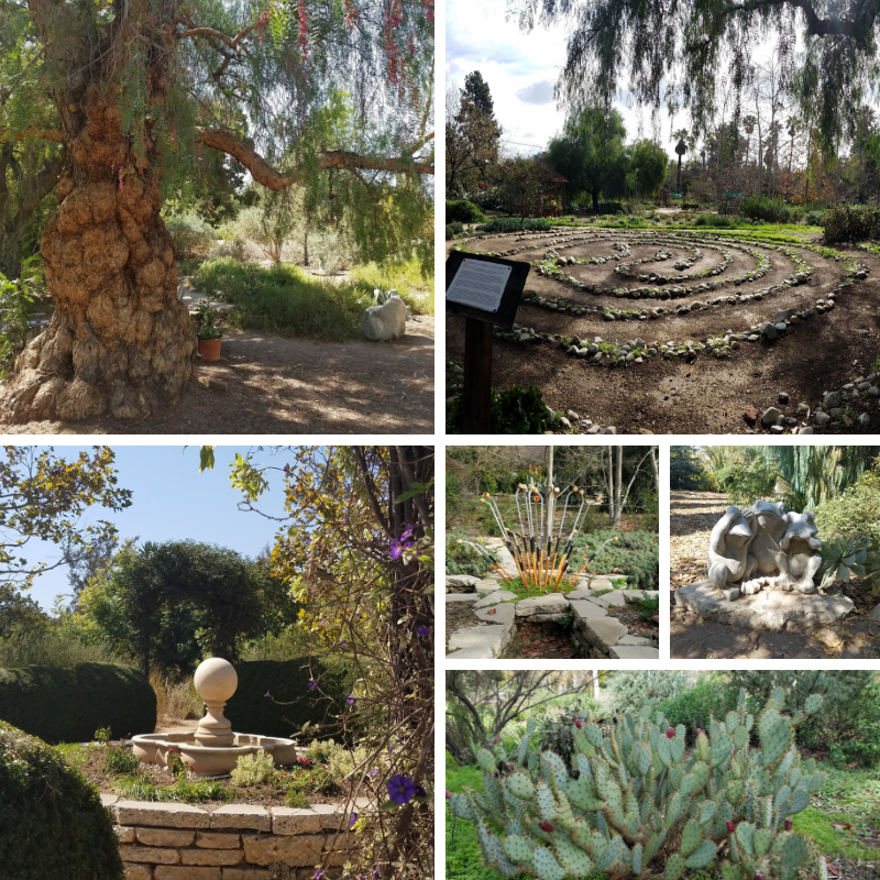 Arlington Garden, Pasadena CA, Free Things to do In Pasadena