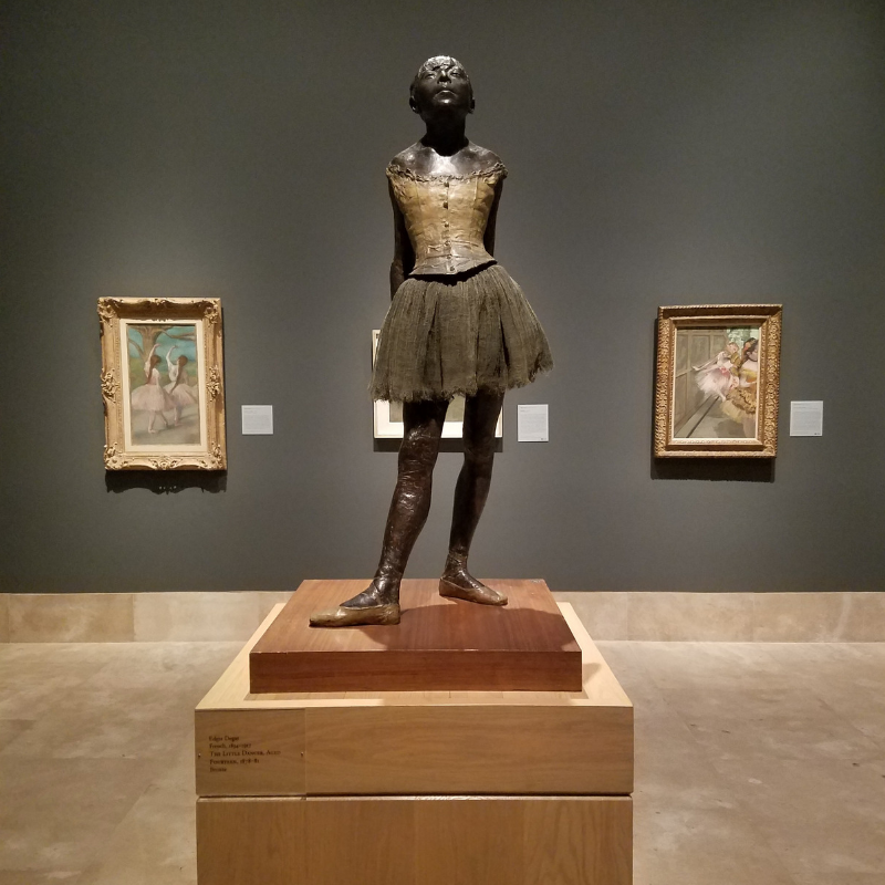 Edgar Degas, Little Dancer Aged Fourteen, Norton Simon Museum, Pasadena CA
