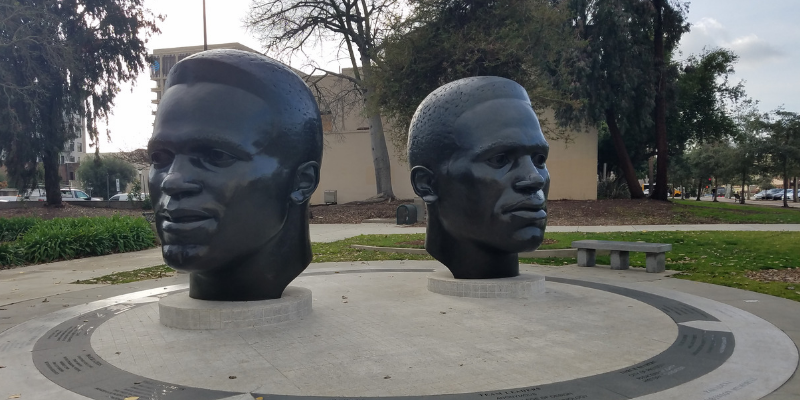The Robinson Brothers Memorial, Pasadena CA