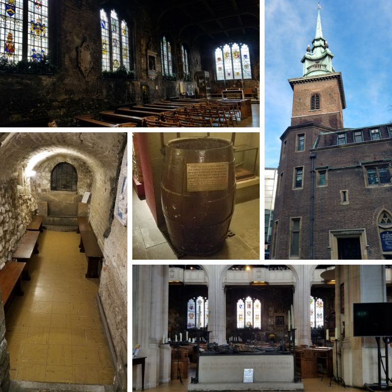 All Hallows Church, Steeple, Crypt Museum, Shackleton's Crows Nest