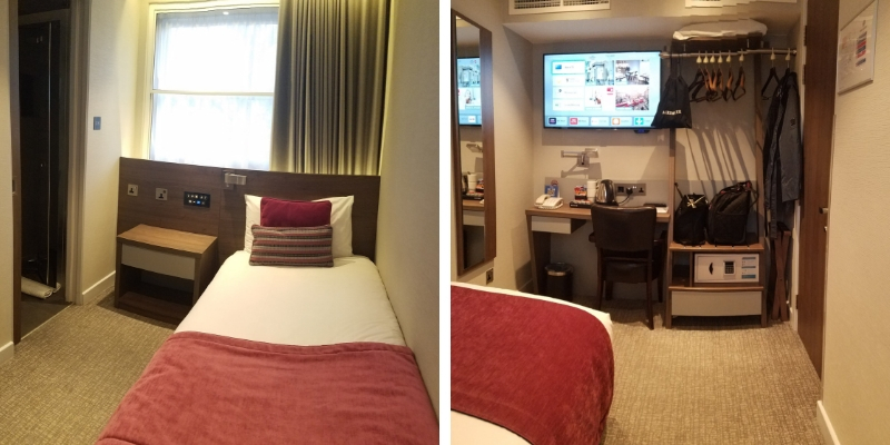 Single Room from both directions at Best Western Plus Delmere Hotel