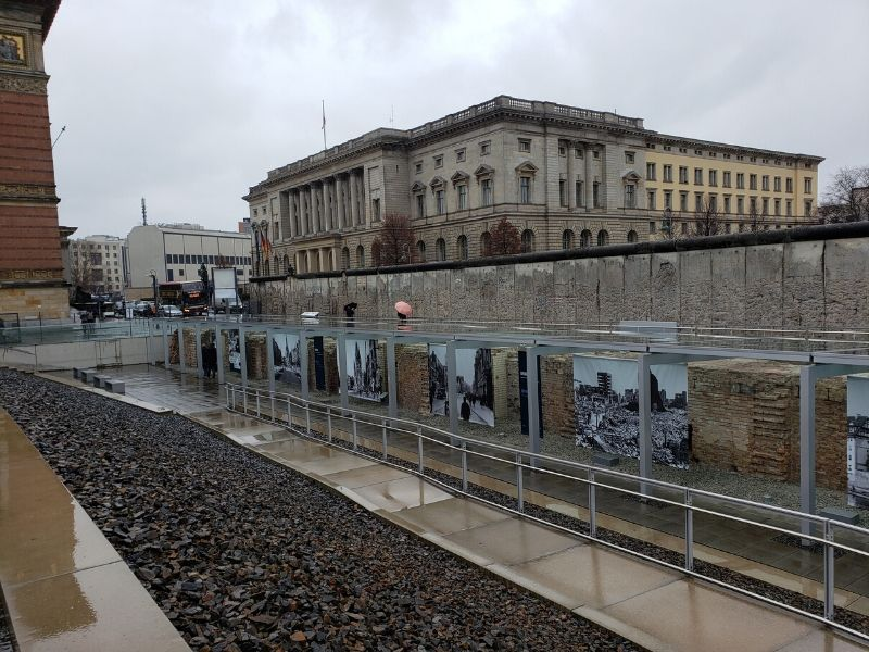 Outdoor Gallery at the Topography of Terror in Berlin